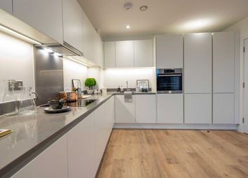 Thumbnail 2 bed flat for sale in Knights Road, Silvertown, London