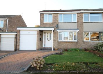 Thumbnail 3 bed semi-detached house for sale in Burnhope Road, Washington