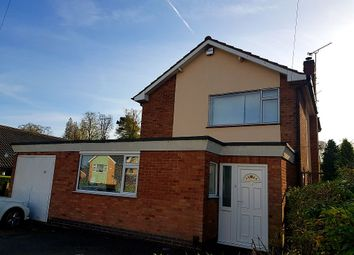 Thumbnail 3 bed detached house for sale in Tredington Road, Glenfield, Leicester, Leicestershire