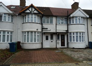 Thumbnail 4 bed terraced house to rent in Charlton Road, Kenton