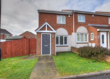 Thumbnail 2 bed end terrace house for sale in Redewood Close, Slatyford, Newcastle Upon Tyne