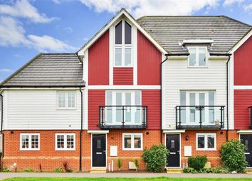Thumbnail 3 bed town house for sale in Rose Walk, Sittingbourne, Kent