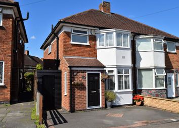 Thumbnail 3 bed semi-detached house for sale in Avril Road, Thurnby Lodge, Leicester