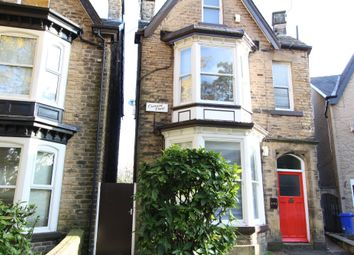 Thumbnail 2 bedroom flat to rent in Crescent Road, Sheffield