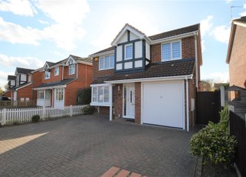 Thumbnail 4 bed detached house for sale in Mountbatten Drive, Colchester