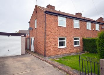 Thumbnail 2 bed semi-detached house for sale in Church Lane, Calow, Chesterfield