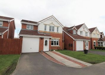 Thumbnail 3 bed detached house for sale in Leyburn Court, Southfield Gardens, Cramlington