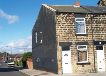 Thumbnail 2 bedroom end terrace house for sale in Highstone Avenue, Barnsley