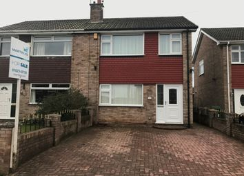 Thumbnail 3 bedroom semi-detached house for sale in Abbotts Croft, Mansfield