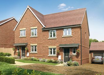 "Thumbnail 3 bed semi-detached house for sale in ""The Eveleigh"" at Old Broyle Road, West Broyle, Chichester"