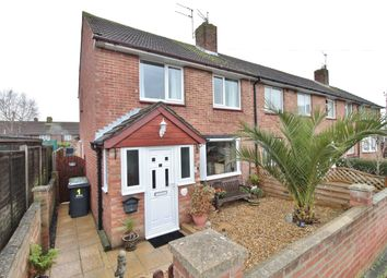 Thumbnail 2 bed end terrace house for sale in Wellow Close, Havant