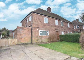 Thumbnail 3 bedroom semi-detached house for sale in Sunnyside Road, Chilwell, Nottingham