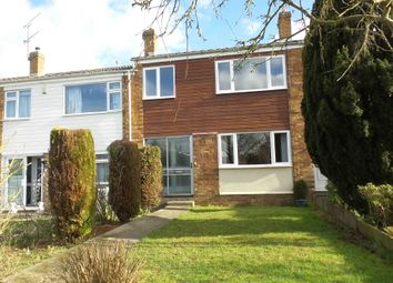 Thumbnail 3 bed terraced house to rent in Birch Road, Onehouse, Stowmarket, Suffolk