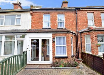 Thumbnail 2 bed terraced house for sale in Somerset Road, Folkestone, Kent