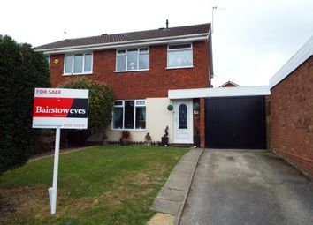 Thumbnail 3 bed semi-detached house for sale in Squirrel Close, Heath Hayes, Cannock, Staffordshire
