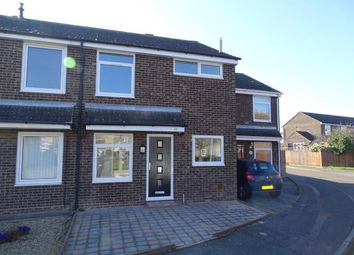 Thumbnail 3 bed terraced house for sale in Arnhem Close, Eaton Ford, St. Neots, Cambridgeshire