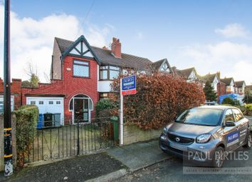 Thumbnail 3 bedroom semi-detached house to rent in Carrsvale Avenue, Urmston