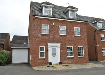 Thumbnail 5 bed terraced house for sale in Swan Close, Glen Parva