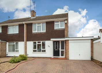 Thumbnail 3 bedroom semi-detached house for sale in Carlisle Close, Dunstable