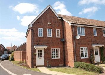 Thumbnail 2 bed town house for sale in Wickliffe Park, Claypole, Newark, Nottinghamshire.