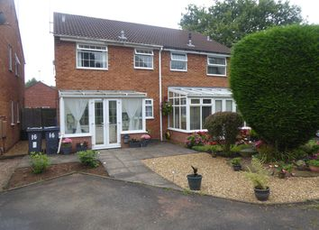 Thumbnail 1 bed semi-detached house for sale in Over Brunton Close, Northfield, Birmingham