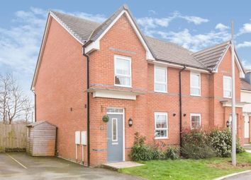 Thumbnail 4 bed semi-detached house for sale in Halliwell Court, Elworth, Sandbach, Cheshire