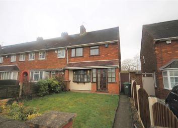 Thumbnail 2 bed terraced house for sale in Odell Road, Walsall