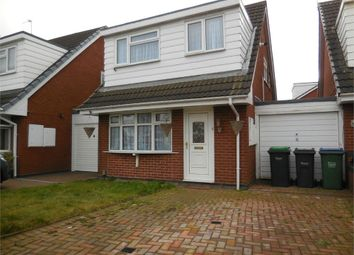 Thumbnail 3 bed detached house to rent in Galton Close, Tipton