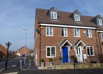 Thumbnail 3 bed terraced house to rent in Summerhill Lane, Bannerbrook Park, Coventry