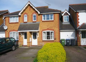 Thumbnail 2 bed terraced house to rent in Bronte Close, Town Centre, Rugby, Warwickshire