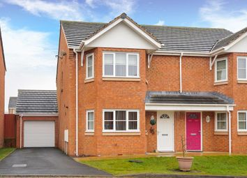Thumbnail 3 bed semi-detached house for sale in Tremont Park, Llandrindod Wells