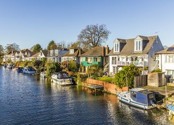 Thumbnail 3 bed property for sale in Riverside, Lower Hampton Road, Sunbury-On-Thames