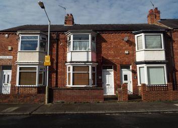 Thumbnail 2 bedroom terraced house to rent in Belvedere Road, Darlington