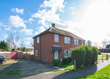 Thumbnail 3 bed semi-detached house for sale in Millfield Gardens, Crowland, Peterborough