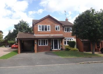 Thumbnail 4 bed detached house for sale in Waresley Park, Hartlebury, Kidderminster, Worcestershire