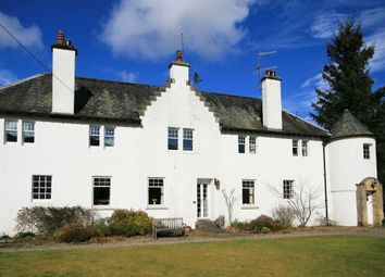 Thumbnail 2 bed flat to rent in 7 The Square, Dunira, Comrie