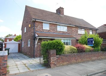 Thumbnail 4 bed semi-detached house for sale in Sandringham Road, Widnes