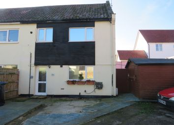 Thumbnail 3 bed end terrace house for sale in Station Road, Framlingham, Woodbridge