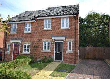 Thumbnail 2 bed semi-detached house for sale in Binfields Farm Lane, Chineham, Basingstoke