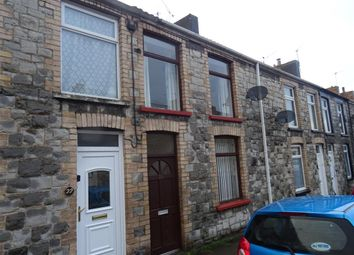 Thumbnail 2 bed terraced house to rent in Cheltenham Terrace, Bridgend, Bridgend