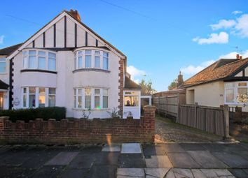 Thumbnail 3 bed semi-detached house for sale in Barnham Road, Greenford