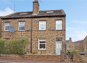 Thumbnail 4 bed semi-detached house for sale in New Mill Road, Holmfirth