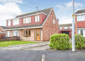 Thumbnail 3 bed semi-detached house for sale in Astral Close, Sutton-On-Hull, Hull, East Yorkshire