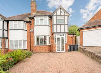 3 bed semi-detached house for sale in Battenhall Road, Harborne, Birmingham B17