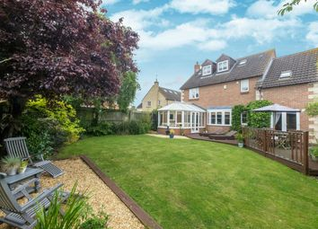 Thumbnail 4 bedroom detached house for sale in St Giles Close, Holme, Peterborough, Cambridgeshire