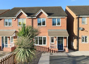 Thumbnail 3 bed semi-detached house to rent in Bakewell Drive, Top Valley, Nottingham