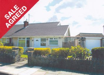 Thumbnail 2 bed semi-detached bungalow for sale in Llwyn On, North Cornelly, Bridgend