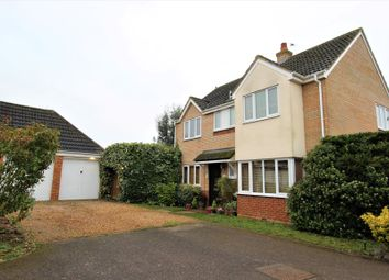 Thumbnail 4 bed detached house for sale in Bickerdikes Gardens, Sandy