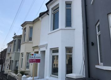 Thumbnail 3 bed terraced house for sale in Lawes Avenue, Newhaven