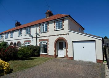 Thumbnail 3 bed semi-detached house to rent in Quintons Lane, Old Felixstowe, Felixstowe